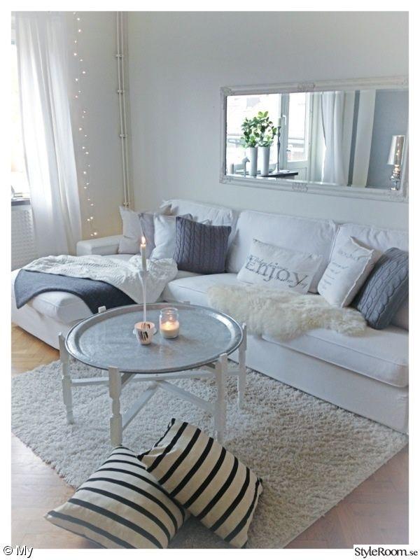 filtar/plädar,kuddar soffa,fårpläd  Kivik Sofa