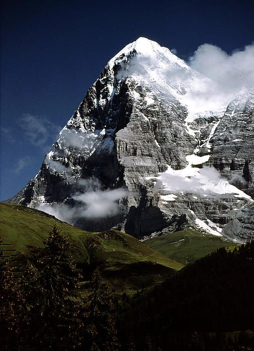 Eiger North Face (left) and West Face (right) LOL... Probably will never trek to base camp or summit, but it is a spectacular mountain.