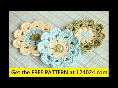 easy crochet coasters projects - YouTube