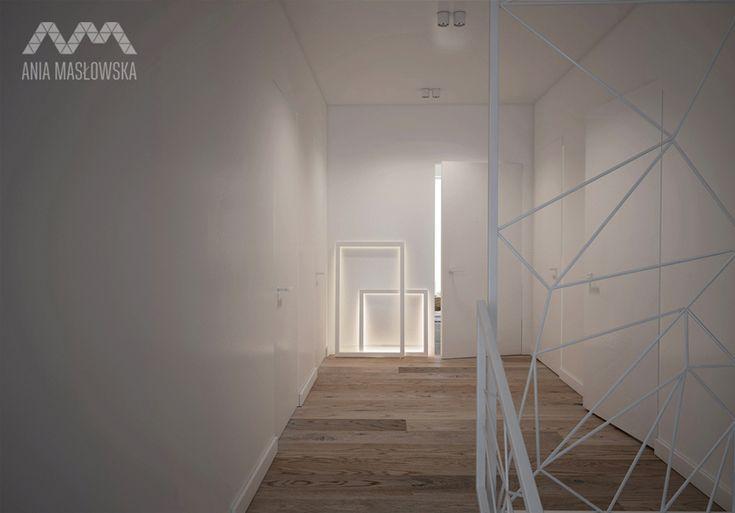 projekt wnętrza domu w Józefowie