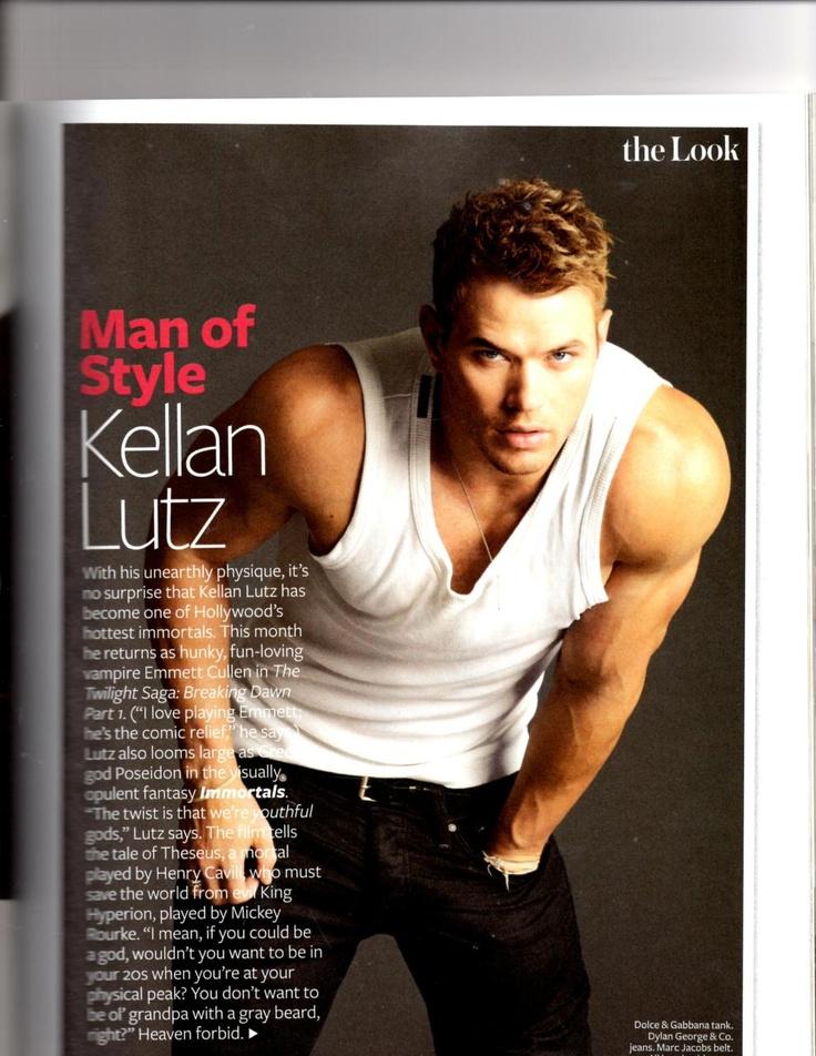 Kellan Lutz, Kellan Lutz..... Ai ai ai...