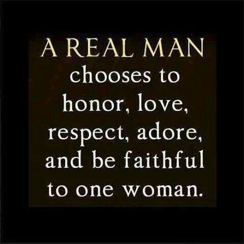"""""""A real man"""""""