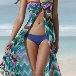 swimwear and coverup  (buy it on oBaz)