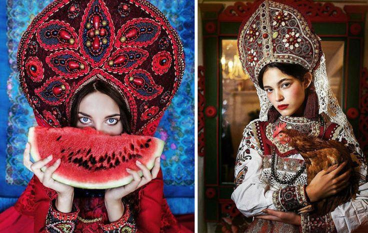 Margarita Kareva brengt Slavisch sprookjes tot leven in prachtige fotografie die de perfecte mix is van schoonheid, geschiedenis, fantasie en kleur.