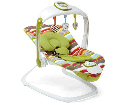 10 Best Baby Swings -- Our picks for the best baby swings. Get more baby gear at The Bump.