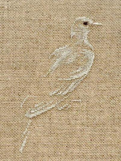 CCCP - Le fourre-tout de Marie-Thérèse Saint-Aubin . #cross #stitch #bird