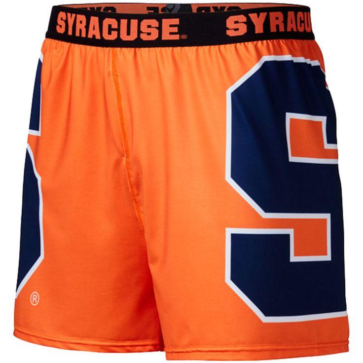 Syracuse Orange Center Seam Base Layer Shorts - Orange