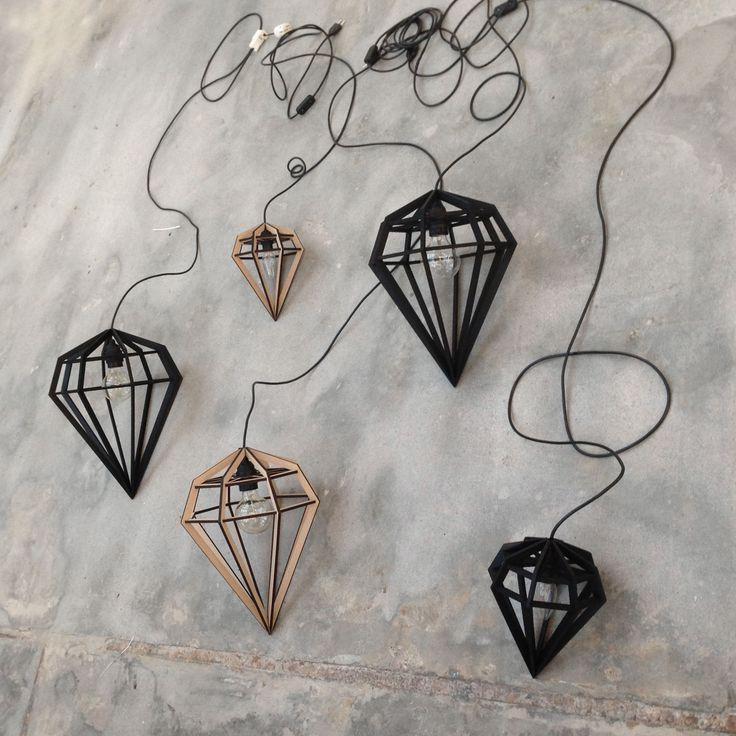 Döden lampa M, natur – Tvåfota Design – Köp online på Rum21.se
