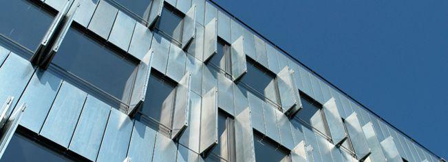 Dynamic metal facade