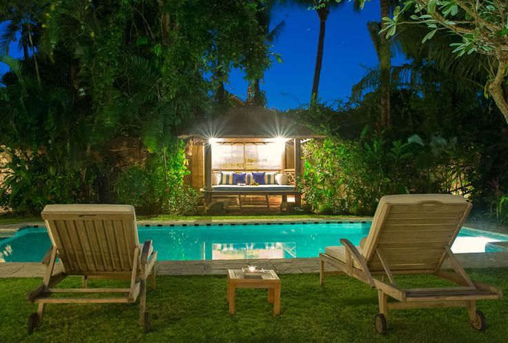 Page 3 « Photo gallery | The Orchard House – Seminyak 4 bedroom luxury villa, Bali - Orchard House - balé at night