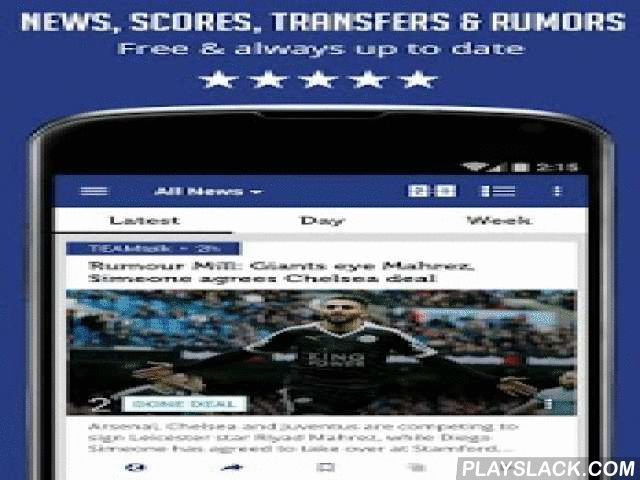 Chelsea News - Sportfusion  Android App - playslack.com ,  ***** Unofficial app ******The Blues News - pure Chelsea FC news, updates, rumors, scores, live updates, Chelsea transfers & rumors and more in one app! With a whole new design this app is all a true Blues fan needs to make sure he's up to date, easily and efficiently!Features include:* All Chelsea News from all all around the web! Get a clean feed with no repeated stories, get all angles on the stories and decide which sources…