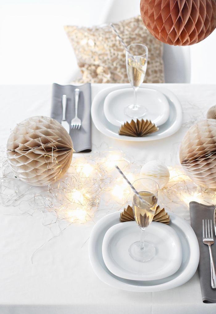 Table setting,  New Year´s, Stylizimo