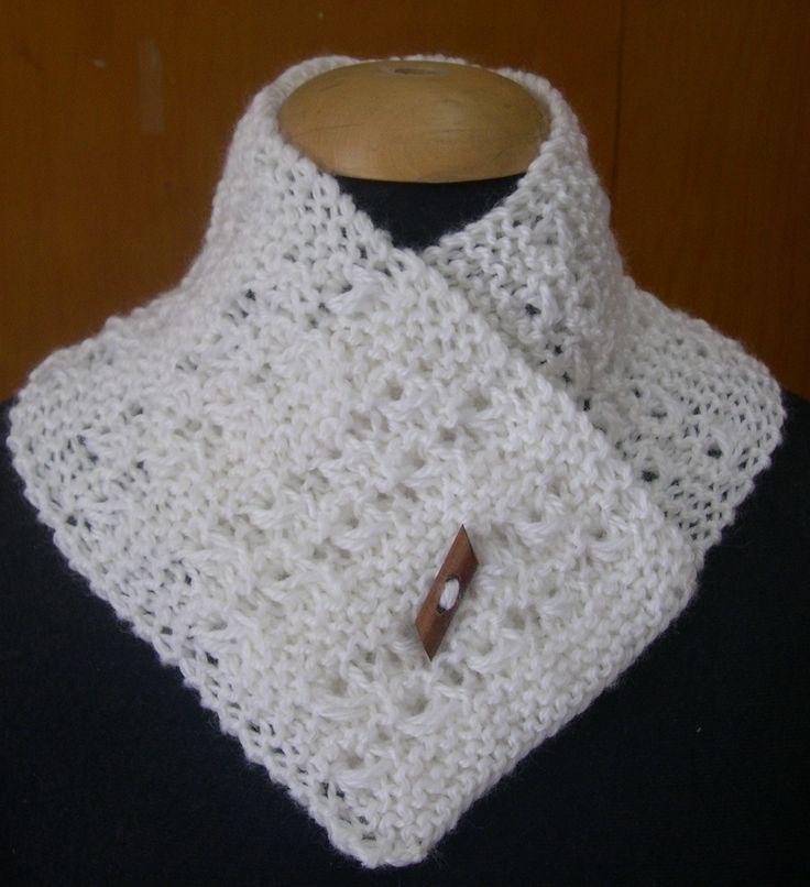 Cuellos Tejidos O Mini Bufandas
