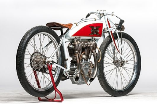 This 1911 Excelsior Board Track Racer (Lot S96) is estimated to fetch between $85,000 and ...