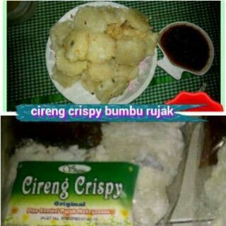 Cireng Crispy only Rp. 20.000 = 20 pcs For more information, please invite our contact in BBM = 5279B81A or Whatsapp = +6281310777881