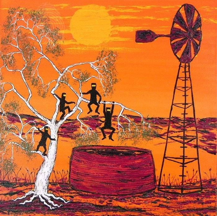 """""""Ned Kelly Gang & the White Gum Frolics"""" With COA by EJ / EJCairns / Cairnduff 