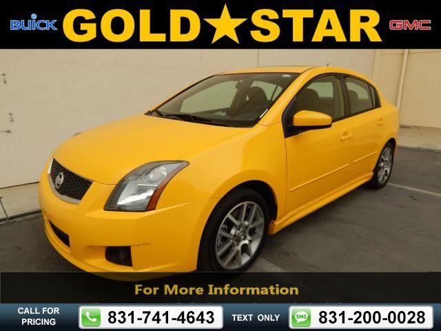 2007 Nissan Sentra SE-R Spec V 58k miles Yellow $9,955 58330 miles 831-741-4643 Transmission: Manual  #Nissan #Sentra #used #cars #GoldStarBuickGMC #Salinas #CA #tapcars