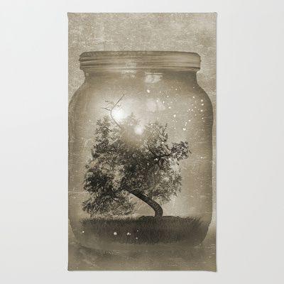 Saving Nature. Rug by Viviana Gonzalez - $28.00