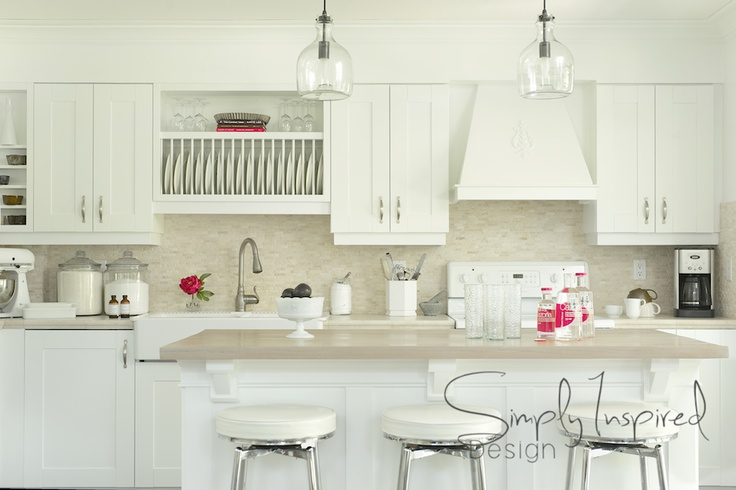 CC-30 Oxford White Benjamin Moore - White Kitchen | Benjamin Moore ...