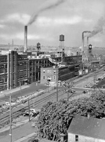 Early years Akron ... ahh, yes, the lovely rubber.  Some days you could smell it all over town.