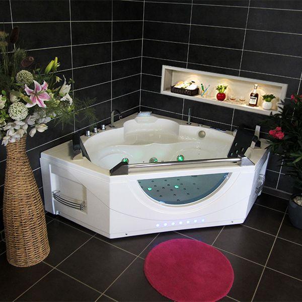 1000 id es sur le th me baignoire d 39 angle sur pinterest baignoires baignoire d 39 angle et salle. Black Bedroom Furniture Sets. Home Design Ideas