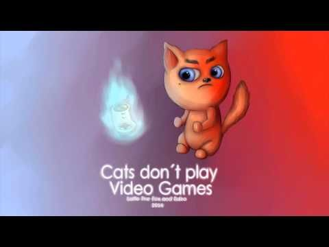 Laffe the Fox & Zalza - Cats Don't Play Video Games. :)