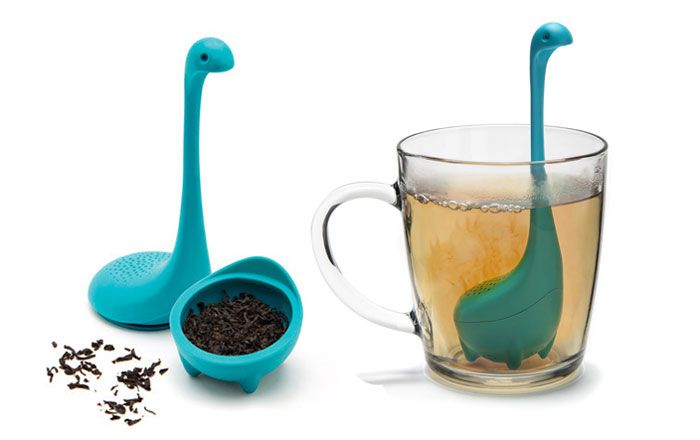 the Loch Ness Monster is real,  Baby Nessie Tea Infusers