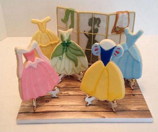 disney princess dress cookies - Bing Images