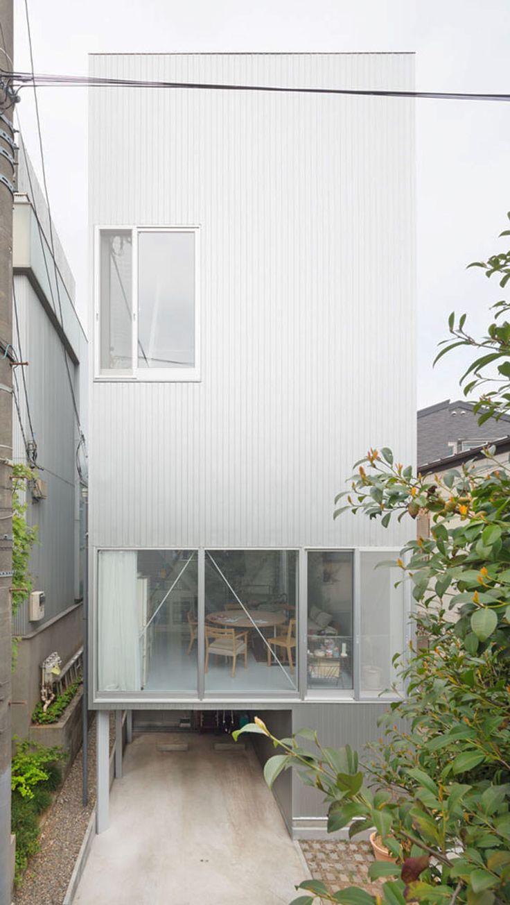 kazuyo sejima: tsuchihashi house - images © shinkenchiku-sha co., ltd.