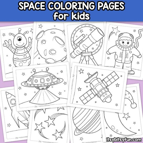 Rainy Day Bored Children These Space Coloring Pages For Kids Can Get Your Child Ren S Imagination Space Coloring Pages Coloring Pages Planet Coloring Pages