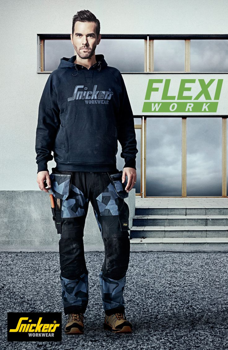 Part of our #newgenerationtrousers are these light work trousers in high-tech body-mapped design for extreme working comfort and flexibility. Combining ventilating stretch fabric with Cordura® reinforcements and a range of pockets for outstanding freedom of movement and functionality. #FlexiWork #worktrousers