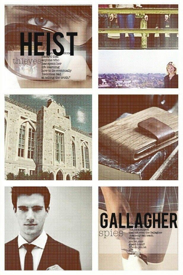 Ally Carter tumblr Heist Society/Gallagher Girls