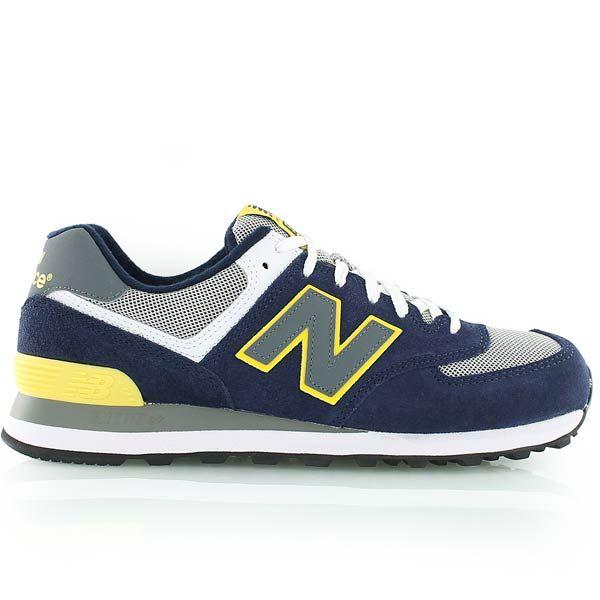 new balance 574 bleu marine et jaune