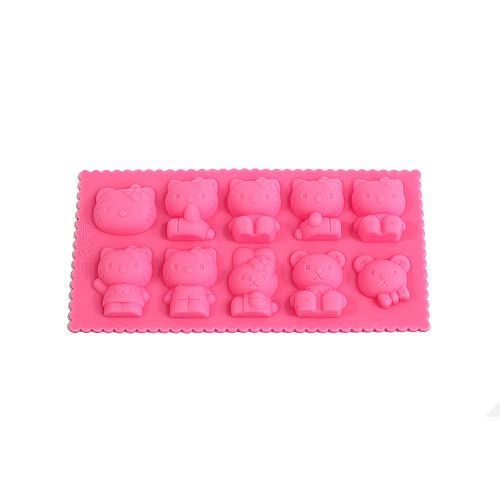 Silicone Ice Tray Kitty – Cetakan Es Hello Kitty Rp. 55.000
