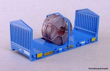 20 ft. Coil Flat-Rack Container 1:87