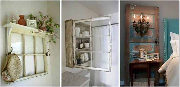 cool Usi si ferestre vechi din lemn transformate in proiecte frumoase Trebuie sa incercati si voi! Proiecte frumoase, ce se potrivesc in orice incapere, realizate din usi si ferestre vechi din lemn. Uimitor!