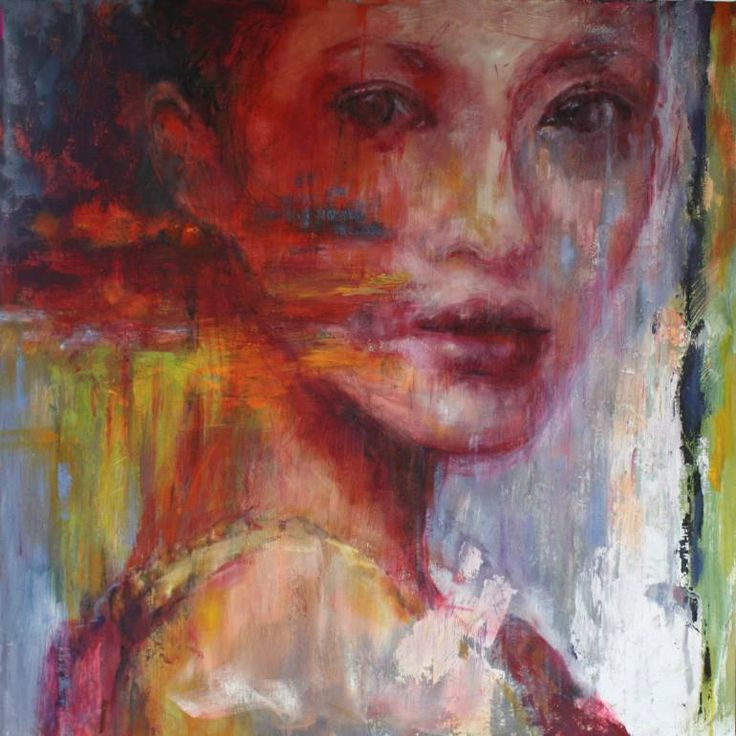 "Saatchi Art Artist Evelyn Hamilton; Painting, ""Zang"" #art"