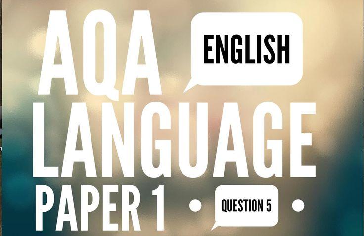 AQA GCSE English Language Paper 1 Question 5: Narrative Example