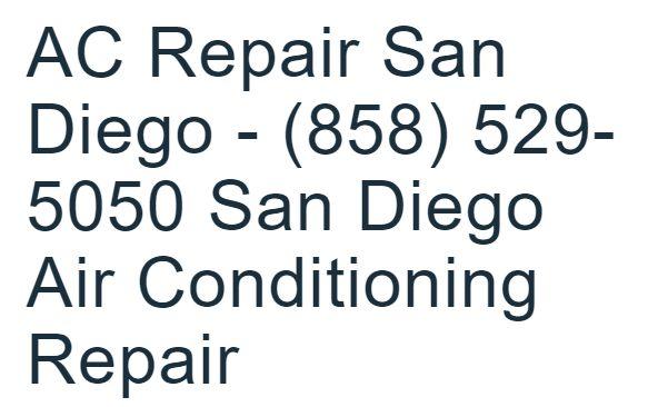 AC Repair San Diego - (858) 529-5050 San Diego Air Conditioning Repair on Vimeo