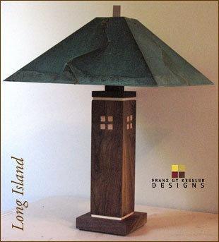 Craftsman table lamp