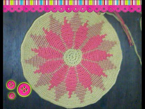 Cómo tejer una mochila estilo wayuú part 1 - YouTube
