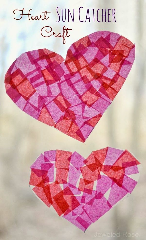 These heart suncatchers are fun for kids to make and look for Get paid to make crafts