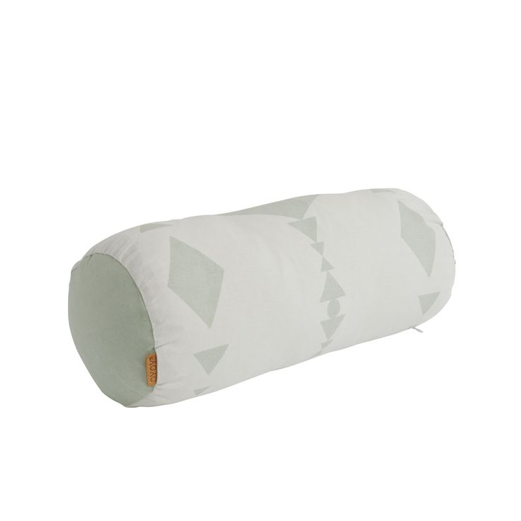 Cylinder Pillow in Pale Mint design by OYOY