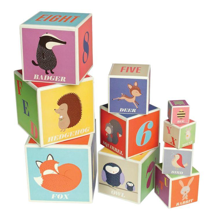 Set blokken met alfabet - Rex international, Per merk - Rex international, kinderen - spelen en knutselen, kinderen - leuke cadeautjes