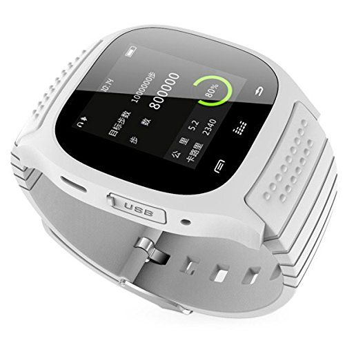 Eoncore M26 Smartwatch Bluetooth 3.0 Smart Watch With Alitmeter Music Player Pedometer Call SMS Remind For Samsung Android Phone (White) 19.99  #AltitudeMeter #AnswerorDialcallsfromwatchSupporthands-freecalls,phonebookPlaythemusicinyourphoneSyncSMS/callhistory(onlyforandroidphone,youneeddownloadapk) #APP #BT #CallAnswer #DataSynchronization #Eoncore #InstagramFacebook...