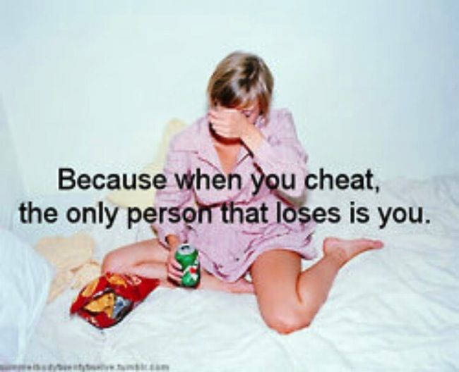 No Cheating- I NEED to remember this!