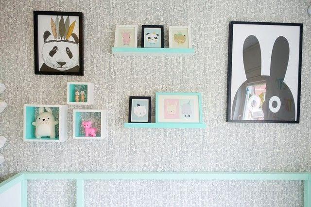 Hippe meiden slaapkamer for for Wallpaper volwassen slaapkamer