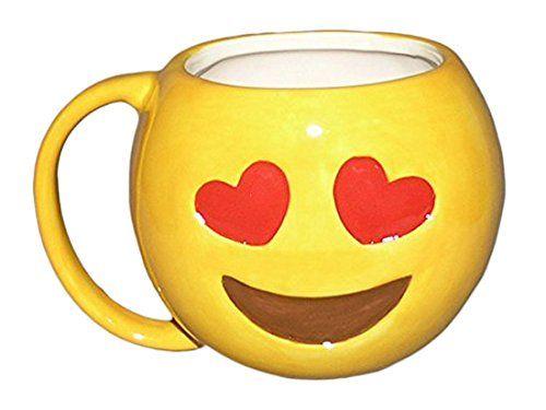 Liebe Herz Augen OMG Emoji Mug…
