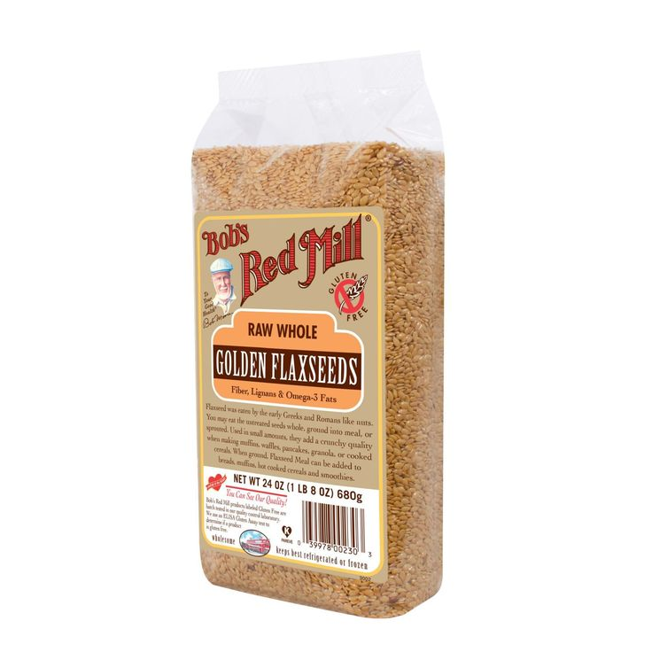 Bob's Red Mill Raw Whole Golden Flaxseed is a great, nutritious addition to just about any food. Flaxseeds contain lignans (antioxidants) as well as Omega-3 fatty acids and soluble fiber. Sprinkle fla