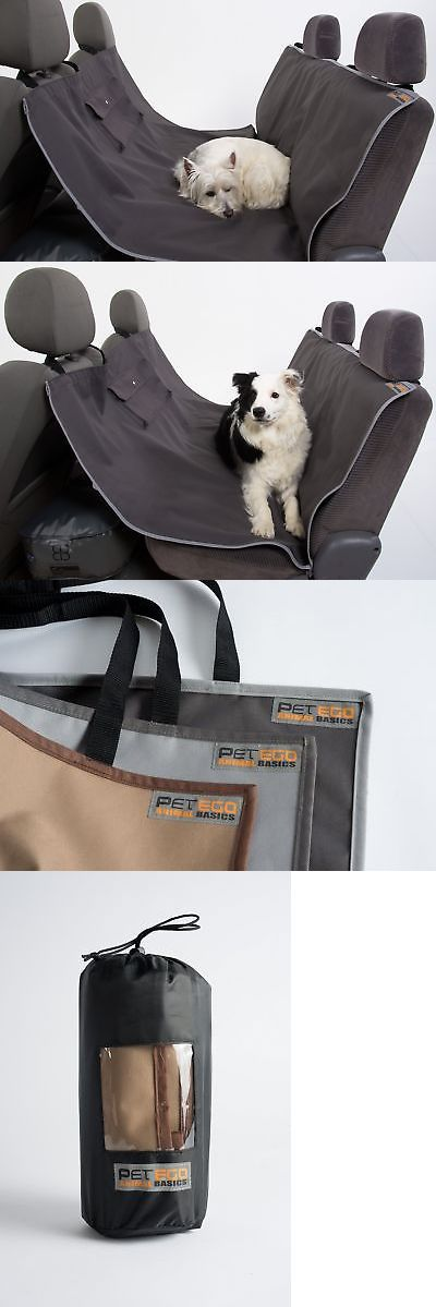 Car Seat Covers 117426: Petego Animal Basics Waterproof Seat Cover Anthracite-Grey Hammock -> BUY IT NOW ONLY: $48.99 on eBay!